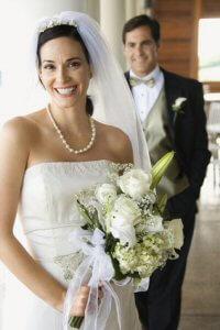 Brautmode zur Hochzeit