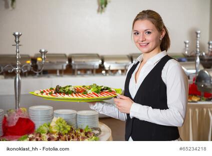 In der Gastronomie gut gekleidet auftreten