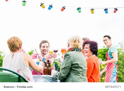 Schick aussehen auf der Sommerparty