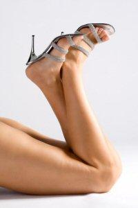 High-Heels: High Heels aus Leder und Lack